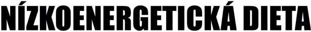 Nízkoenergetická dieta - logo